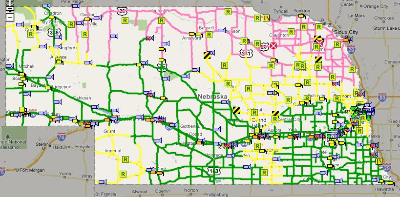 511 nebraska road conditions map Comparison Of 511 Websites Ne Mn Ia Scb Citizen 511 nebraska road conditions map
