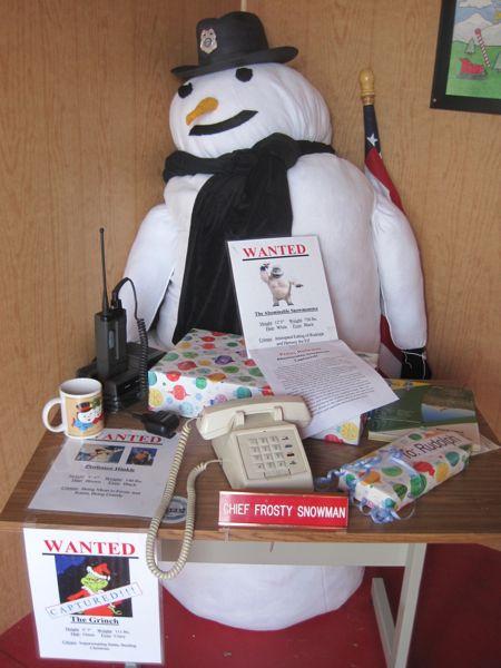chief frosty snowman