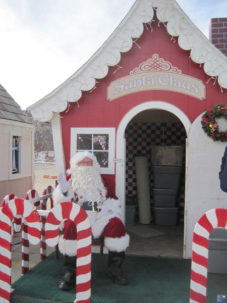 santas house