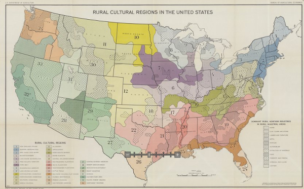Rural Cultural Regions