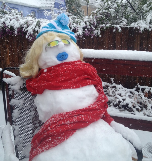 2014 mothers day snowwoman