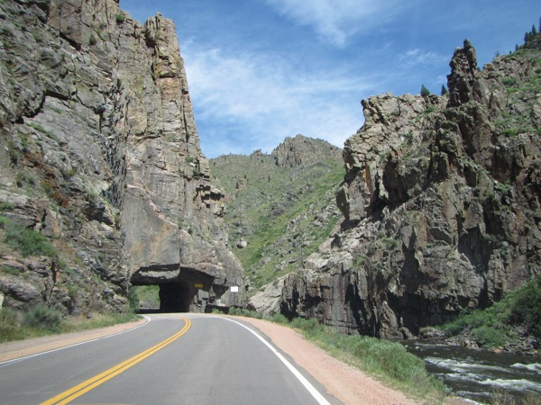 This is not a fast drive, but it is pretty, and there are lots of picnic areas along the way.
