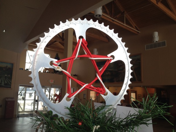 bike gear tree topper