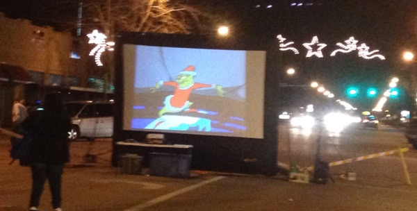 grinch in the street