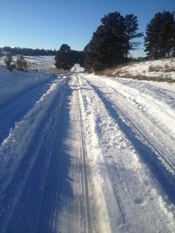slick road