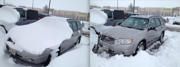 benefit of portable snow shovel PM