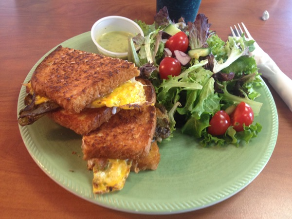 grilled cheese chile relleno